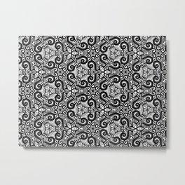 Mesmerizing Mandala Patterns Metal Print
