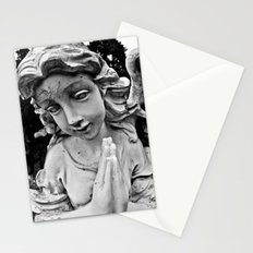 Cracked angel Stationery Cards