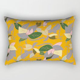 Floral and thorn pattern Rectangular Pillow