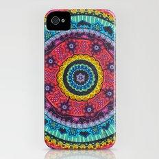 Rainbow Mandala iPhone (4, 4s) Slim Case