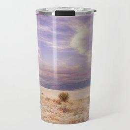Desert Sunset in  the White Sands National Monument in Alamogordo, New Mexico. Travel Mug