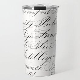 Inspirational Words II Travel Mug