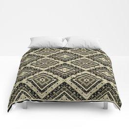 Beautiful ethnic ornament. 1 . Comforters
