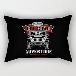 the ultimate off road Rectangular Pillow