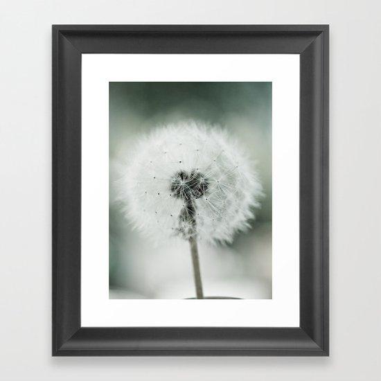 Soft End Framed Art Print