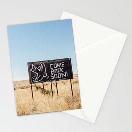 Leaving Marfa Stationery Cards