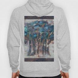 Faded Semi-Abstract Trees Hoody