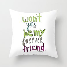 Forever Friend Throw Pillow