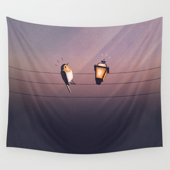 Feeling Wired?! Wall Tapestry
