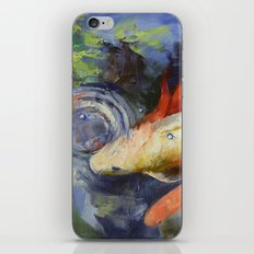 Koi and Water Ripples iPhone & iPod Skin