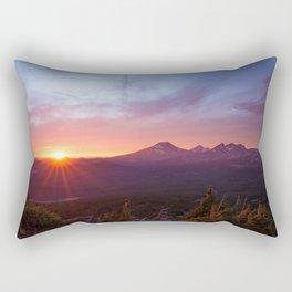 Sunset Summits Rectangular Pillow