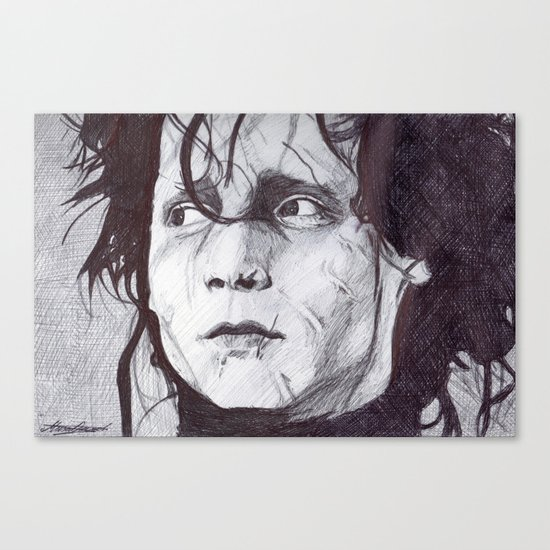 Edward Scissorhands   Canvas Print