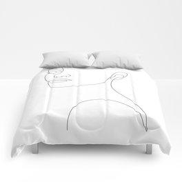 Girly Portrait Comforters