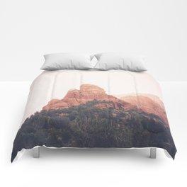 Sunrise in Sedona Comforters