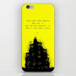 Do Not Worship. iPhone Skin