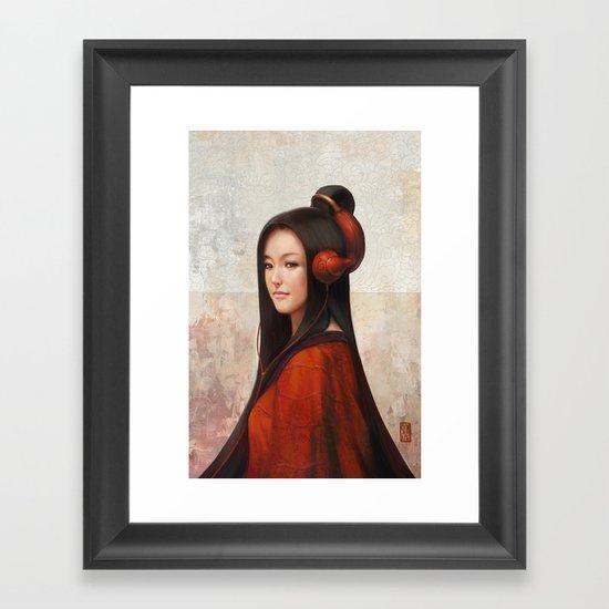 Pepper Orient Framed Art Print