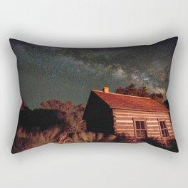 Cabin under the Stars Rectangular Pillow