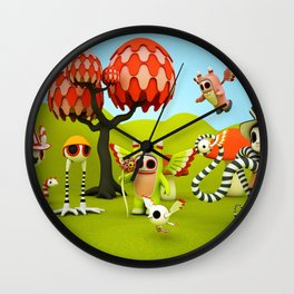 The Gathering Wall Clock