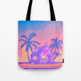 80s Kame House Tote Bag