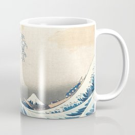 The Great Wave off Kanagawa by Katsushika Hokusai from the series Thirty-six Views of Mount Fuji Coffee Mug