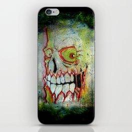 the SKULL iPhone Skin