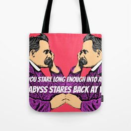 Nietzsche's Abyss Tote Bag