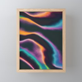 Fruity Fluids Framed Mini Art Print