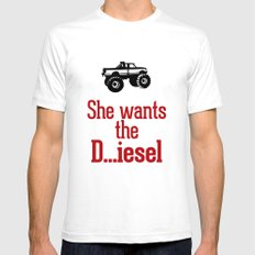 She wants the D...iesel Mens Fitted Tee White SMALL
