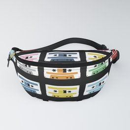 Rainbow Tapes Fanny Pack
