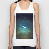 cities Tank Tops featuring Solar Eclipse 1 by Aaron Carberry