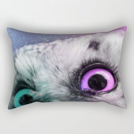 Galactic Owl Rectangular Pillow