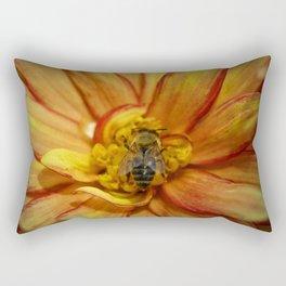 bee Grounded Rectangular Pillow