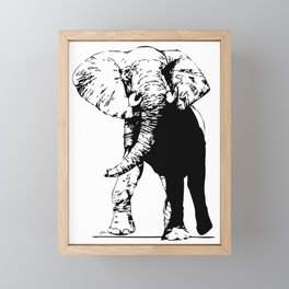 Elephant - M Framed Mini Art Print