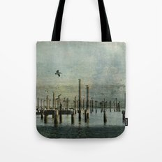 Pelicans Landing Tote Bag
