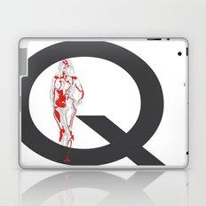 Queen of Diamonds Laptop & iPad Skin