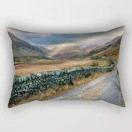 Valley Sunlight Rectangular Pillow