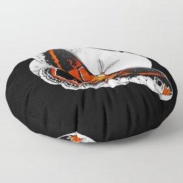 Robin Moth   MOON VERSION     BUGSPOTTING SERIES Floor Pillow