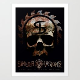 Sinister Visions Promo 2015 Art Print