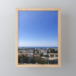 Marina del Rey, California Framed Mini Art Print