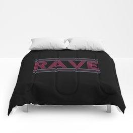 rave prism logo Comforters