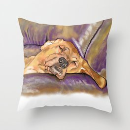 That's Quite a Dawg Throw Pillow