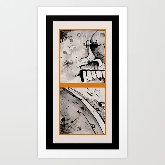 DEUCE Art Print