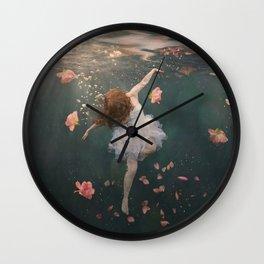 Rosewater Wall Clock