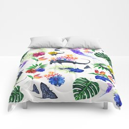 tropical shark pattern Comforters