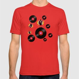 Angus on Vinyl T-shirt