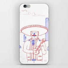 Mariachi in the Desert iPhone & iPod Skin