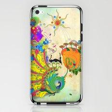 The Peacock Dance iPhone & iPod Skin