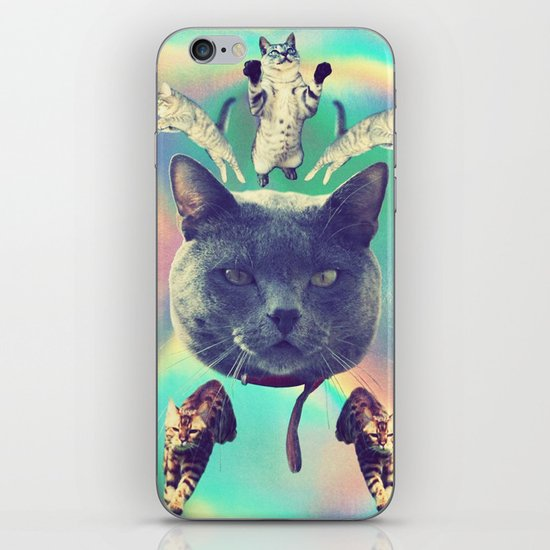 galactic Cats Saga 3 iPhone & iPod Skin