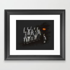 One ring ruins the group Framed Art Print