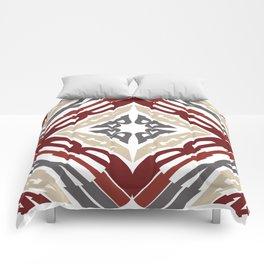 KALEIDOSCOPE WORDS CHRISTMAS Comforters